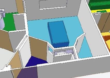En 2005, les Ingénieurs et Designers du Mastère DUAL DESIGN ont présenté leurs travaux sur la Chambre d'isolement au Centre Hospitalier Psychiatrique de Lyon