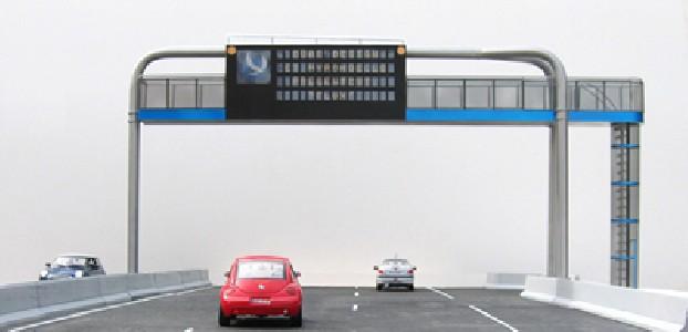 En 2005, une équipe, composée d'ingénieurs et de designers, a conçu ce P.M.V. pour le réseau routier Hyrondelle (dans le cadre du Mastère Dual Design)